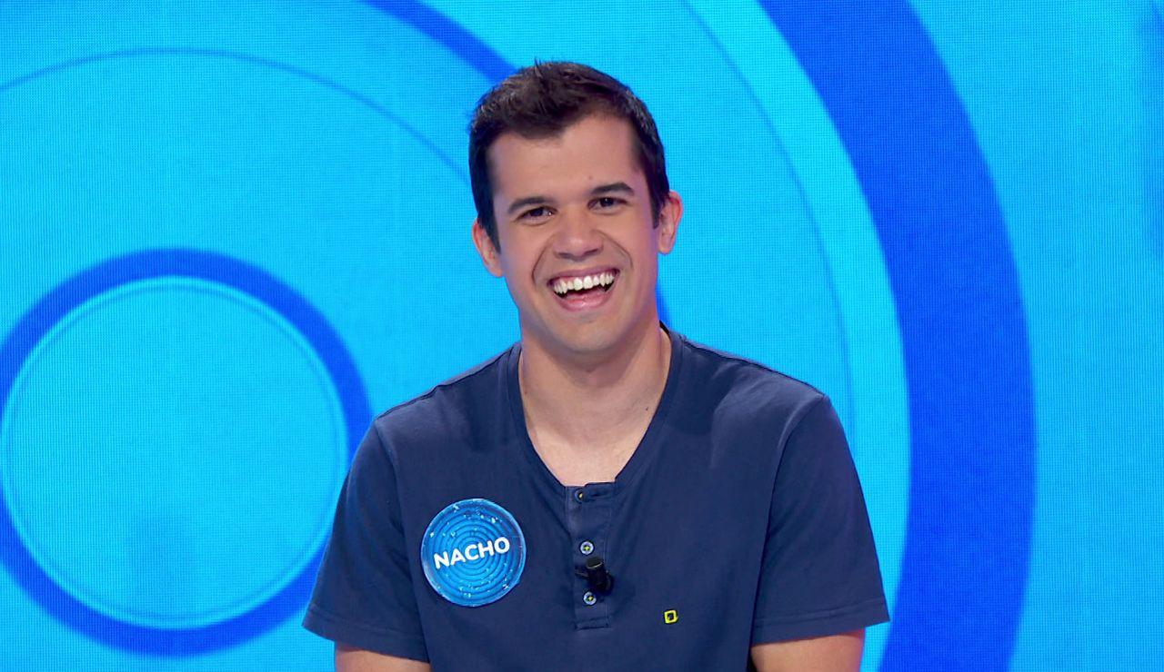 """El optimismo de Nacho pese a estar en la cuerda floja: """"Mejor estar en la silla azul que en casa"""""""