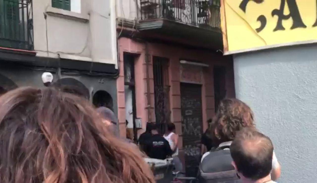 REEMPLAZO: Operación antiterrorista de los Mossos d'Esquadra en el barrio de la Barceloneta, en Barcelona