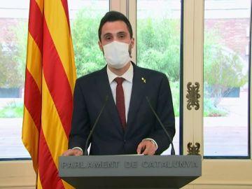 """Roger Torrent️, tras conocerse ser objetivo de espionaje: """"En el estado español se practica espionaje contra adversarios políticos"""""""