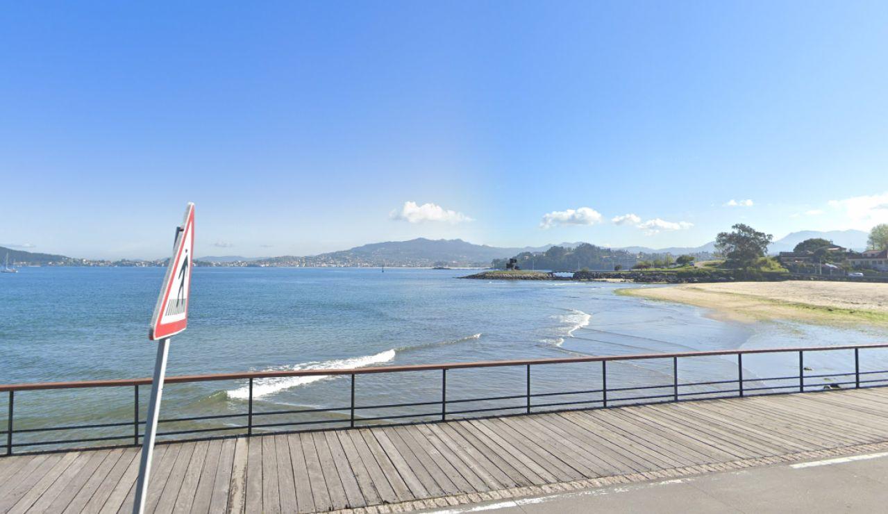 Accidente. Lesión medular. Playa de Santa Marta, Baiona, Pontevedra.