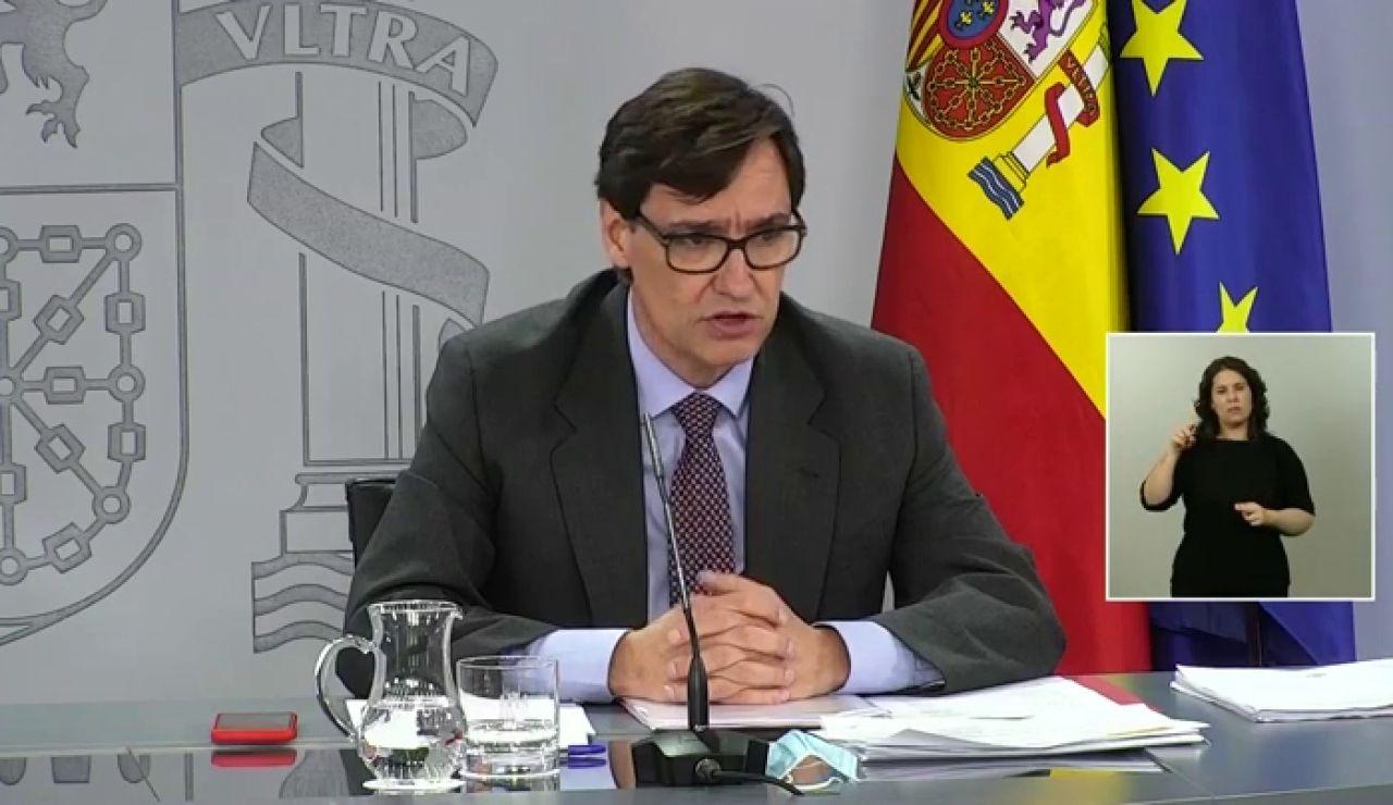 """Salvador Illa, sobre el confinamiento en Lleida: """"No parece que el decreto catalán invada competencias. Lo importante es actuar"""""""