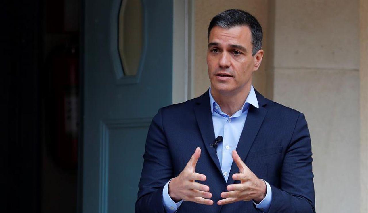 """Pedro Sánchez, sobre el rey emérito Juan Carlos: """"No tengo nada que añadir ya fui muy claro hace unos días"""""""