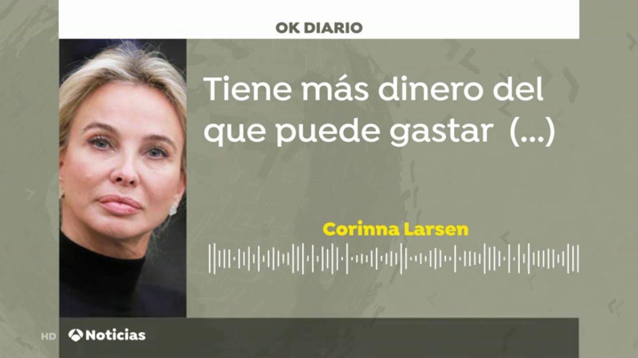 Nuevos audios de Corinna Larsen sobre el Rey Juan Carlos