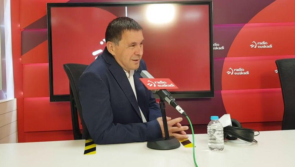 Arnaldo Otegi atribuye el escaño de Vox en el País Vasco a los votos de los guardias civiles