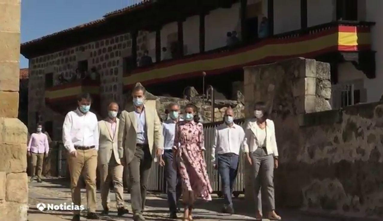 Los Reyes de España visitan Soria, la provincia más despoblada