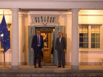 Pedro Sánchez se reúne con el primer ministro sueco