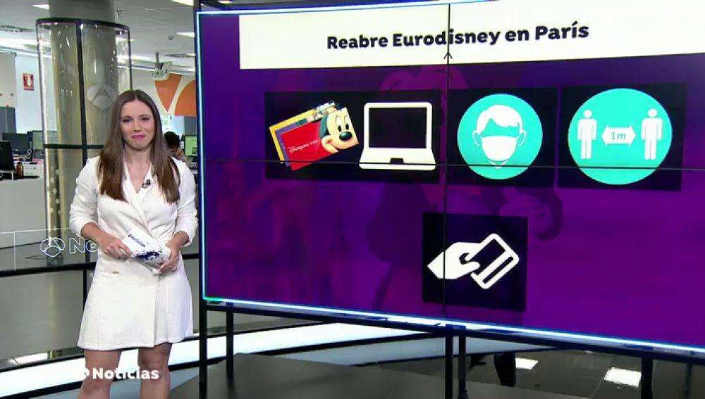 Las nuevas medidas de seguridad en Disneyland Paris tras la crisis el coronavirus