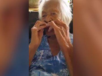 Anciana de 122 años