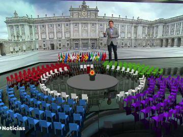 Así será el homenaje de Estado en memoria a las víctimas del coronavirus en España que presidirán los Reyes este jueves