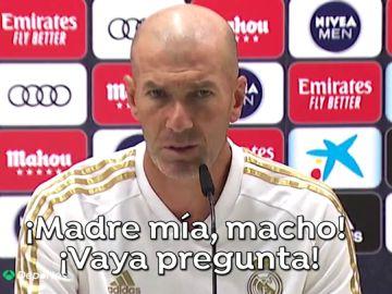 """Zidane se enfada cuando le preguntan por Bale: """"Madre mía, macho... Gareth es uno de los nuestros"""""""