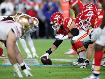 Imágen de la final de la SuperBowl entre los San Francisco 49ers y los Kansas City Chiefs