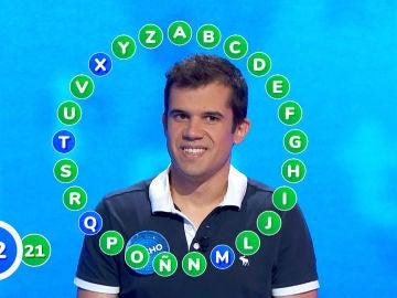 Nacho le arrebata la victoria a Pablo en un rosco vibrante, ¿conseguirá el bote de 352.000 euros?