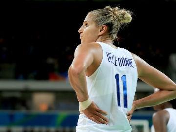 lena Delle Donne, en un partido de USA en los JJOO de Río