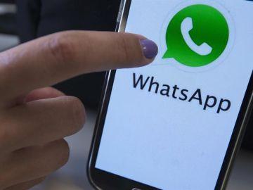 Imagen de archivo de la aplicación de Whatsapp en un dispositivo móvil