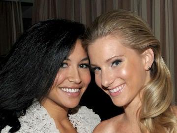 Naya Rivera y Heather Morris