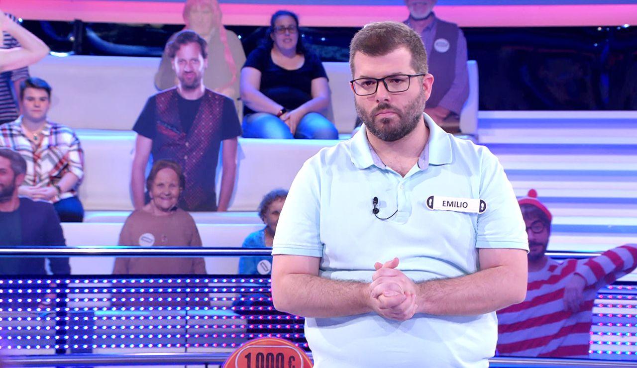 A todo o nada: Emilio se suma a la lista de valientes de '¡Ahora caigo!' y arriesga por los 100.000 euros