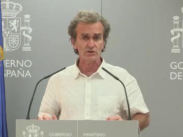 """Fernando Simón advierte sobre los rebrotes de coronavirus: """"Aragón iba muy bien y ya ven lo que ha pasado"""""""