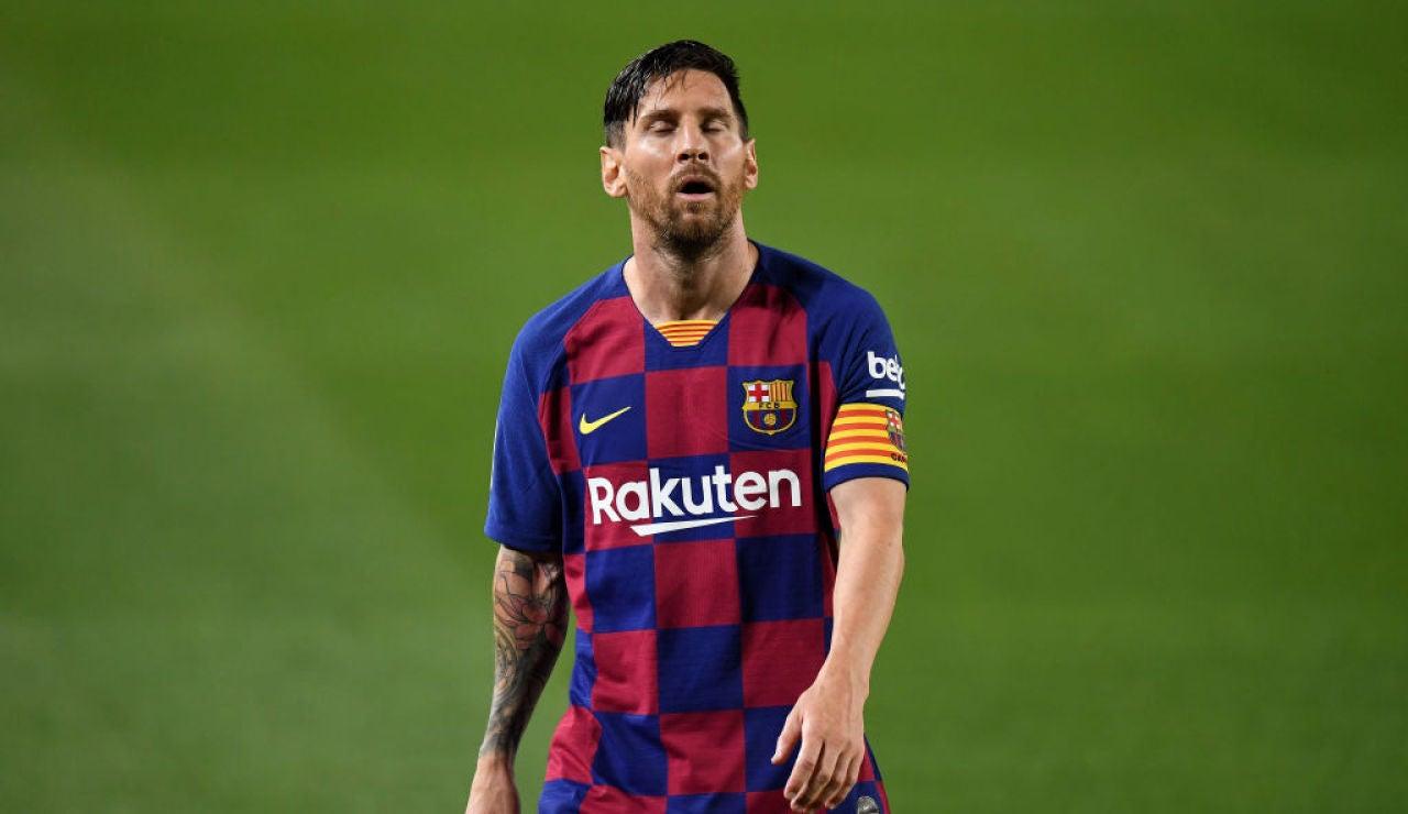 """Messi: """"Dije que así era difícil ganar la Champions... pero es que no nos daba ni para la Liga; así no ganaremos al Nápoles"""""""