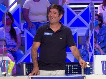"""La sorpresa de Piacho al caer en el gajo de los mil euros en 'La ruleta de la suerte': """"Madre mía, ¡qué guay!"""""""