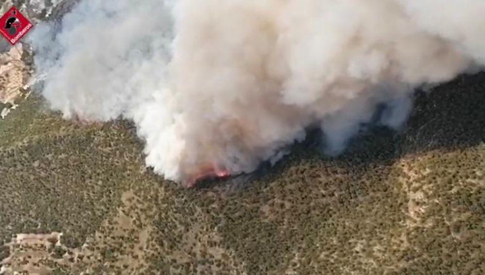 Incendio en Monóvar