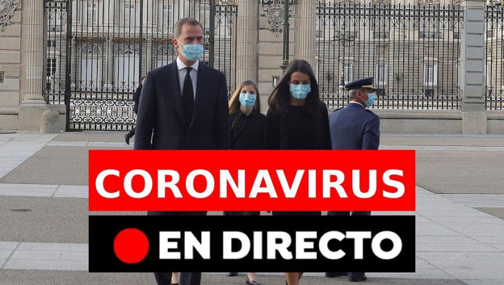 Coronavirus | Homenaje a las víctimas del coronavirus, en directo