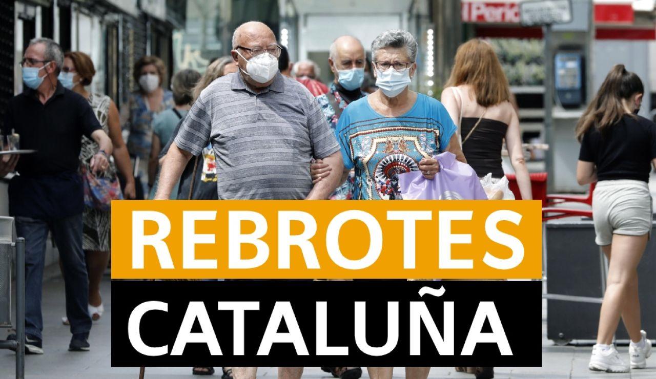 Coronavirus Cataluña: Rebrotes y noticias de hoy, jueves 16 de julio, en directo | Última hora Cataluña