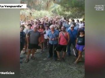 Josep Pàmies celebra una 'fiesta de besos y abrazos' en pleno rebrote de coronavirus en Barcelona