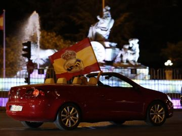 Cibeles se blinda para evitar las aglomeraciones tras la 34º Liga del Real Madrid