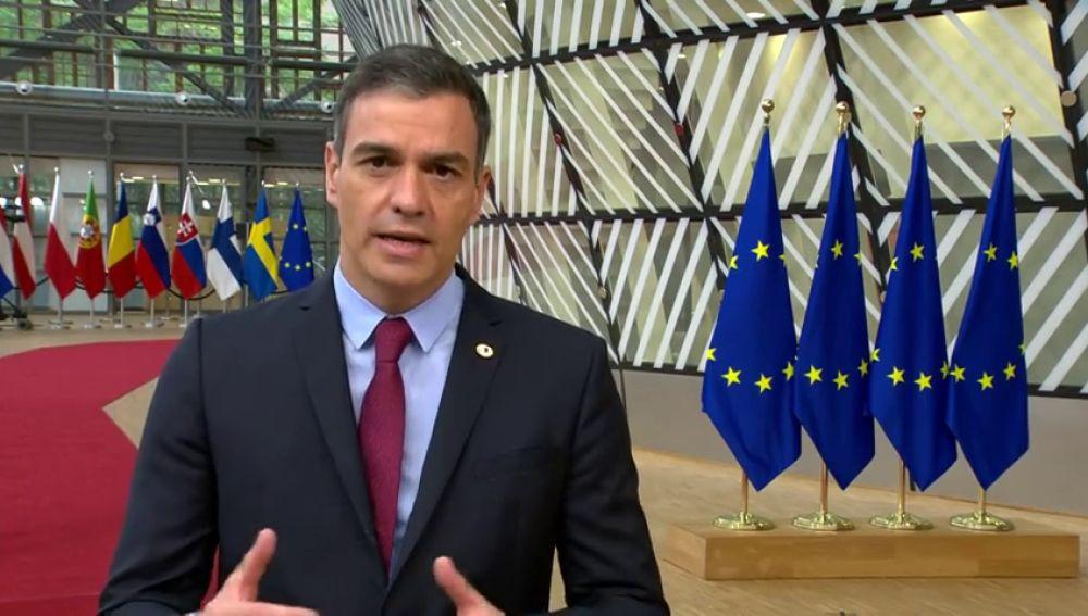 """Pedro Sánchez avisa de que los líderes europeos están """"obligados"""" a un acuerdo sobre el fondo de reconstrucción tras el coronavirus"""