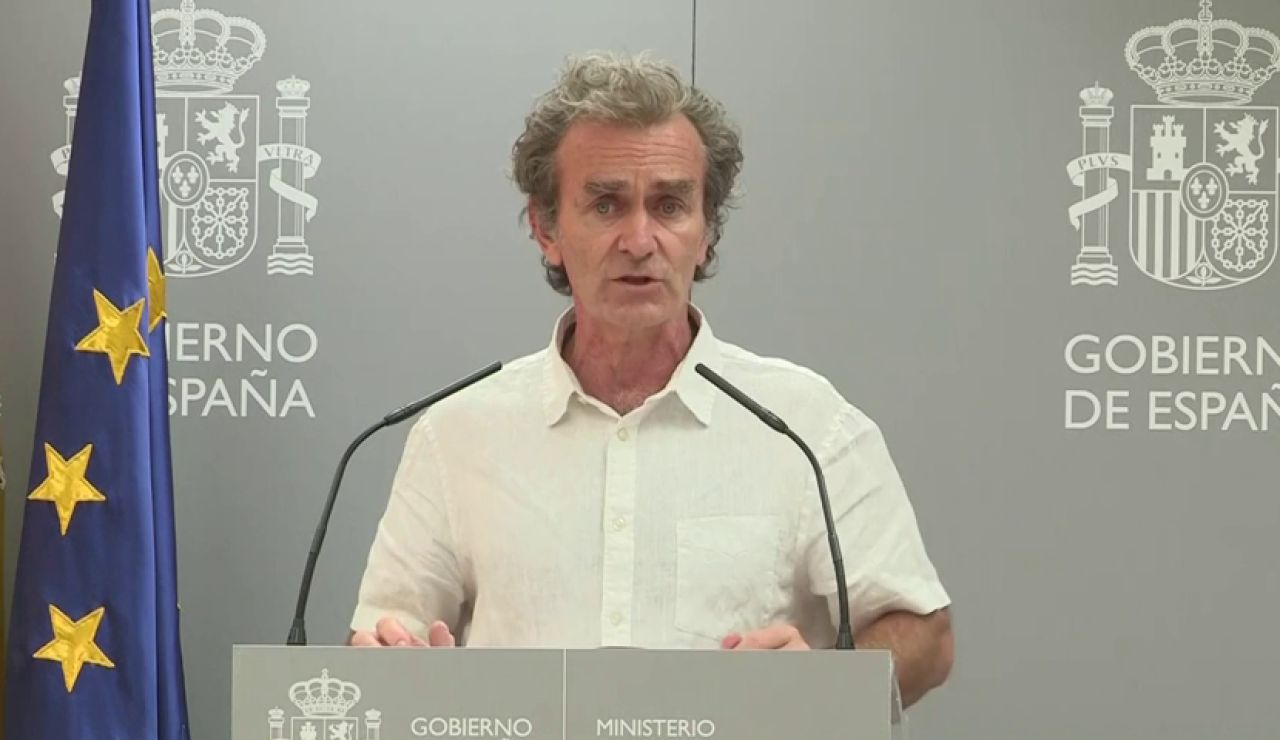 ¿Qué es la transmisión comunitaria que Fernando Simón reconoce que hay en Cataluña y Aragón?