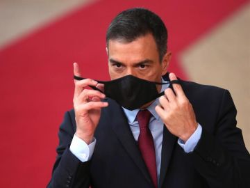 Pedro Sánchez en la Cumbre Europea
