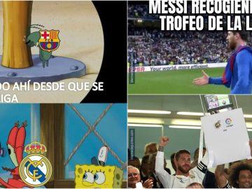 Los mejores memes de la Liga 34 del Real Madrid