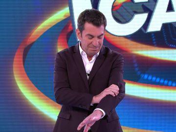 Arturo Valls revela la horrible pesadilla que ha tenido con los concursantes de '¡Ahora caigo!'