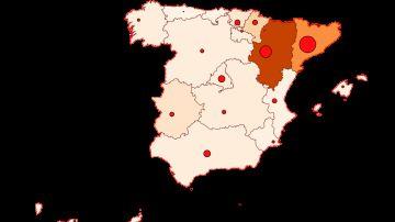 Mapa de contagios y muertos de coronavirus en España y el mundo hoy domingo 2 de agosto de 2020
