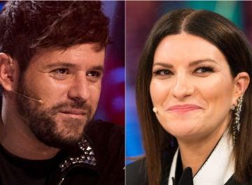 Pablo López y Laura Pausini, coaches de 'La Voz'