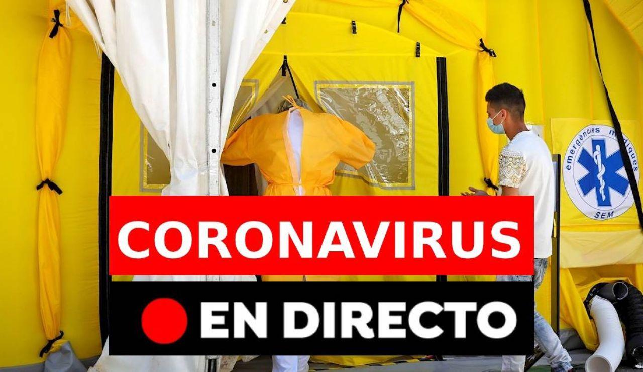Coronavirus: Última hora del coronavirus en España hoy, noticias en directo