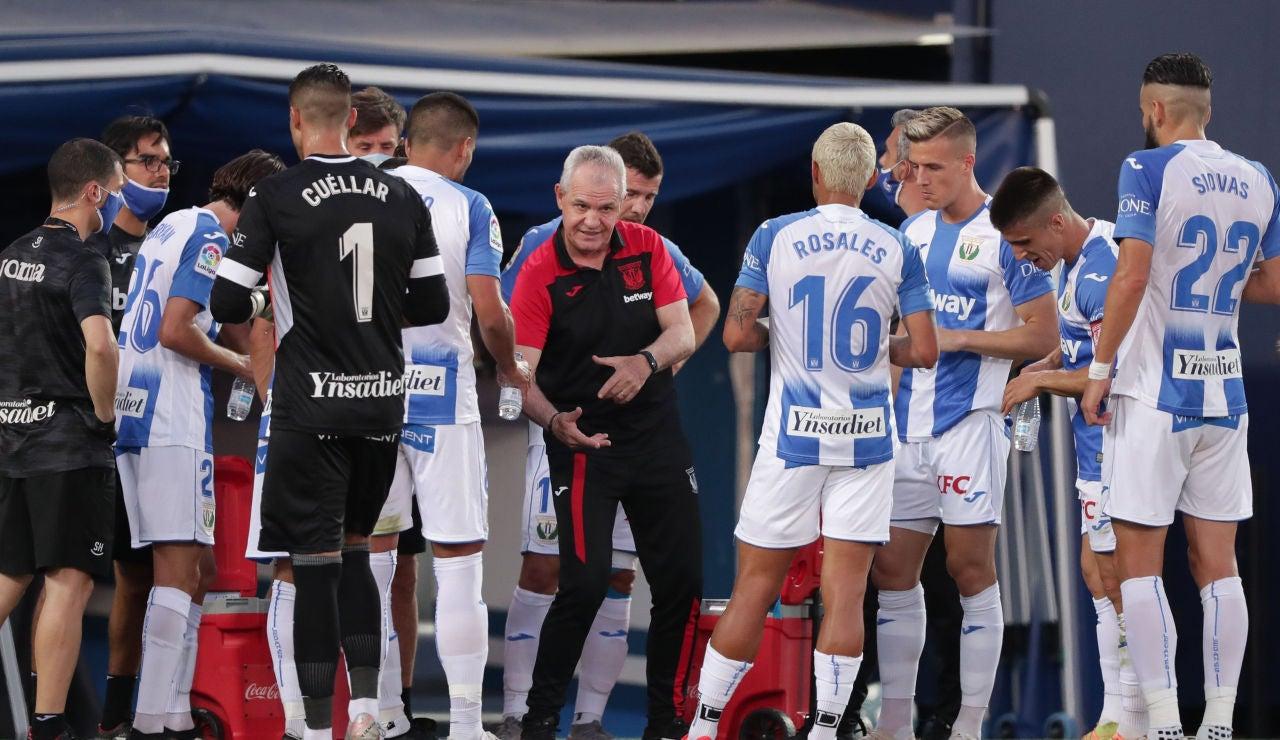 El Leganés desciende a Segunda División