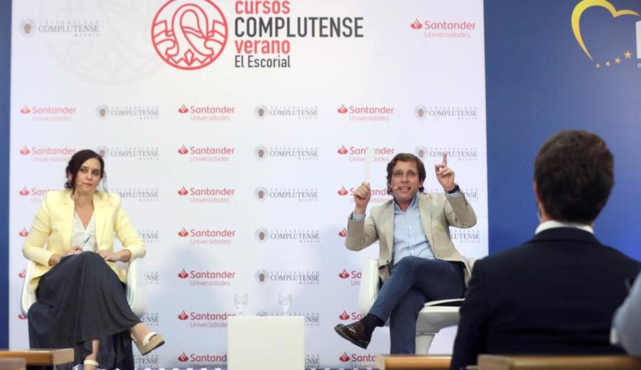 Isabel Díaz Ayuso y José Luis Martínez-Almeida