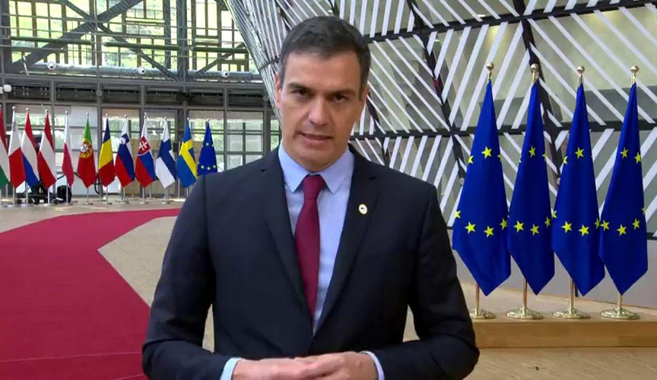"""Sánchez sobre el fondo de recuperación: """"Necesitamos un acuerdo para poder afrontar con todas las garantías esta pandemia"""" del coronavirus"""