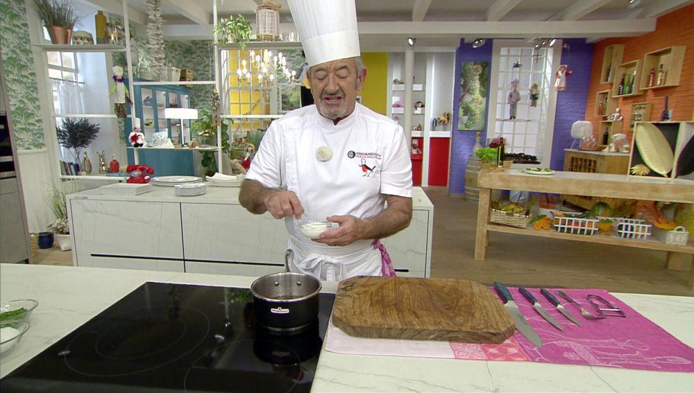El truco rápido de Karlos Arguiñano para espesar la salsa