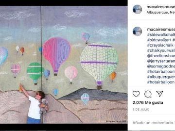 Instagram de @macairesmuse