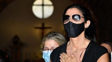 Paz Padilla despide a su marido, Antonio Vidal
