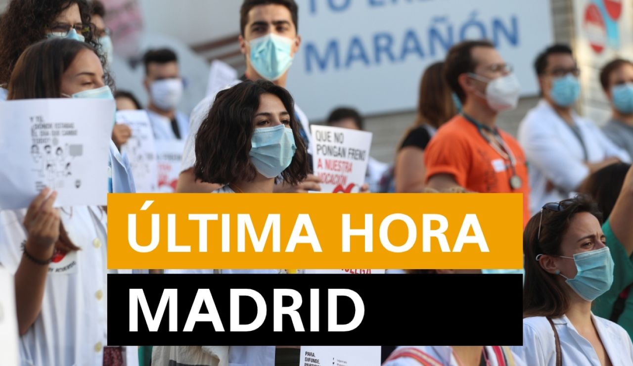 Coronavirus Madrid: Rebrotes y noticias de hoy, lunes 20 de julio, en directo | Última hora Madrid