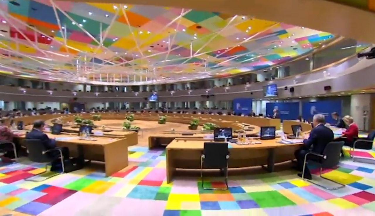 Los líderes europeos ven posible un acuerdo en los fondos del coronavirus tras rebajar las subvenciones