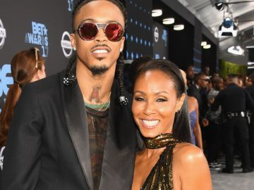 August Alsina y Jada Pinkett Smith en los BET Awards de 2017