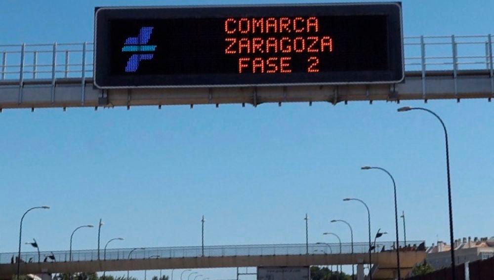 La comarca central de Zaragoza ha entrado en fase 2 flexibilizada