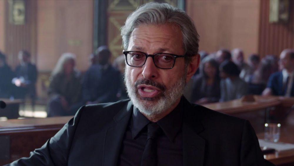 Jeff Goldblum en 'Jurassic World: El reino caído'