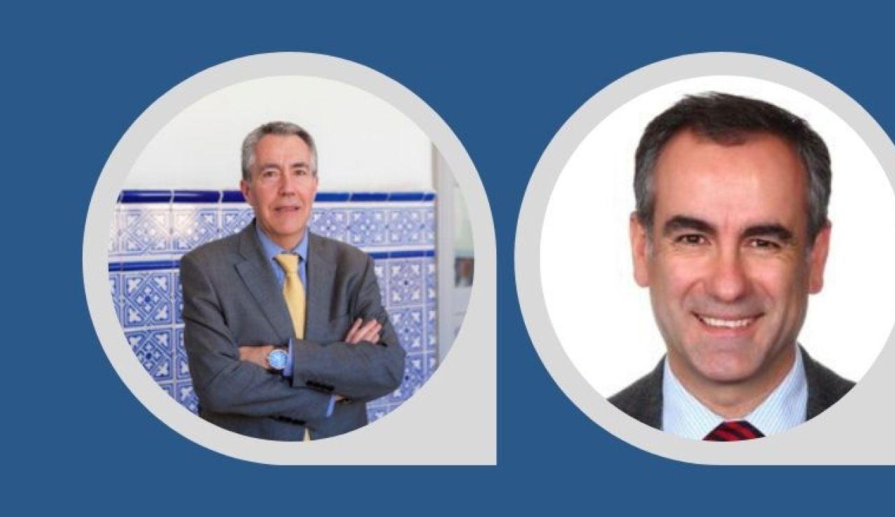 Pedro César Martínez y Fernando Díez Ruiz
