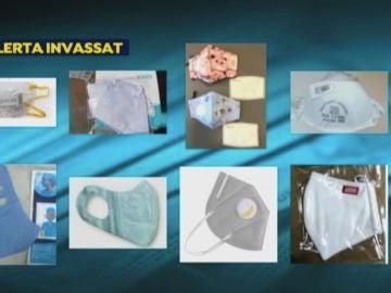 Estas son las más de 100 mascarillas que no cumplen con las garantías de salud ante el coronavirus