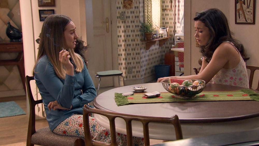 Luisita se da cuenta que no es el momento para ser madre